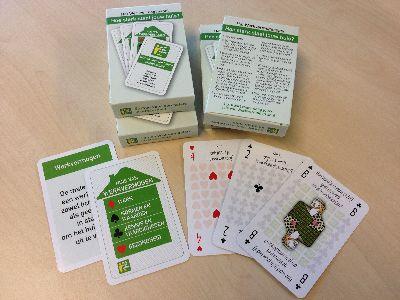 Kaartspel: `Hoe sterk staat jouw huis?'