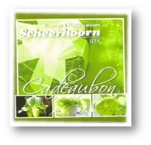Scheerhoorn Cadeaubon