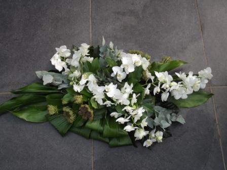 Orchideen Bloemstuk Wit