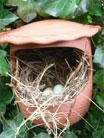 Nestpot voor roodborstjes