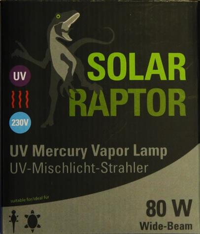 UV Mercury Vapor Lamp