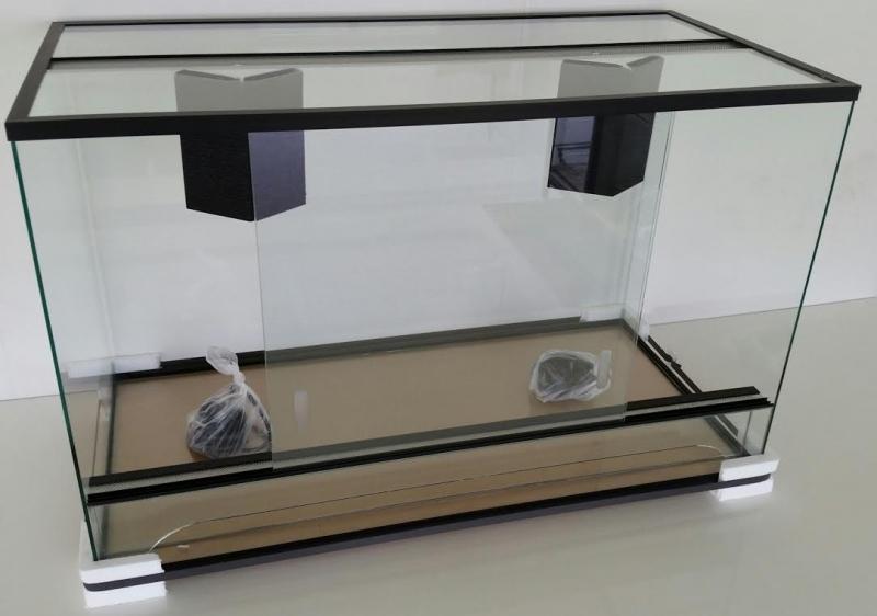 Glazen terrarium
