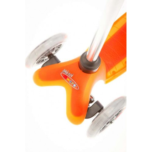 Mini Micro step oranje 2-6 jaar