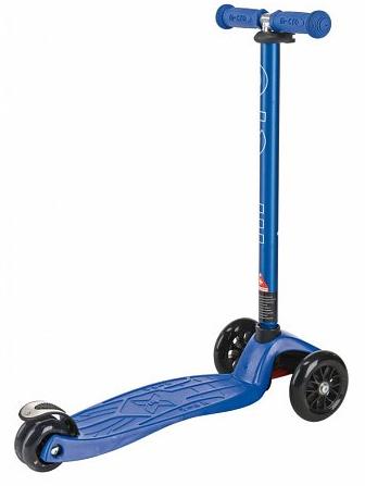 Maxi Micro step Blauw Metallic met T-bar 5-12 jaar