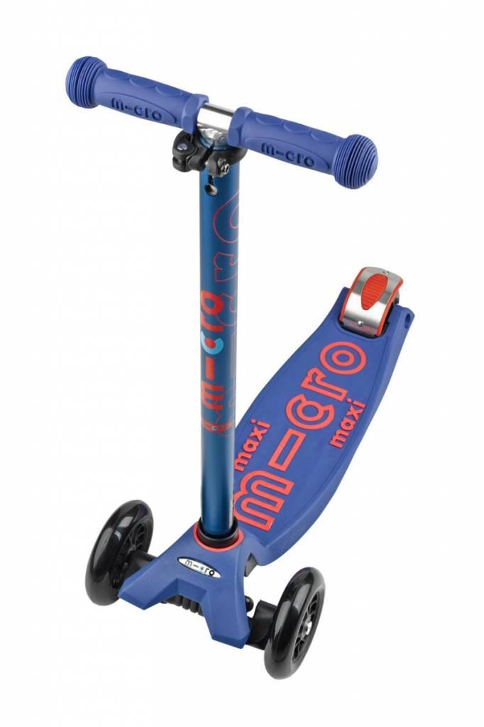 Maxi Micro step Deluxe Blauw met T-bar 5-12 jaar