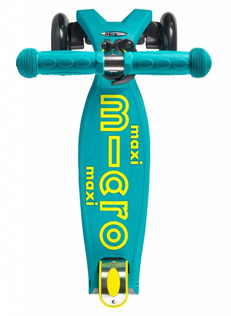 Maxi Micro step Deluxe Petrol Green met T-bar 5-12 jaar