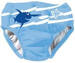 Beco Sealife<br/>wasbare zwemluier<br/>Blauw effen