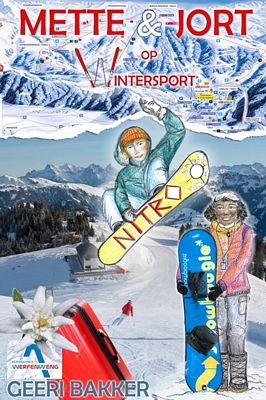 Mette en Jort op wintersport