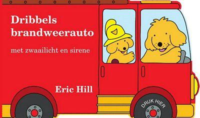 Eric Hill - Dribbels brandweerauto