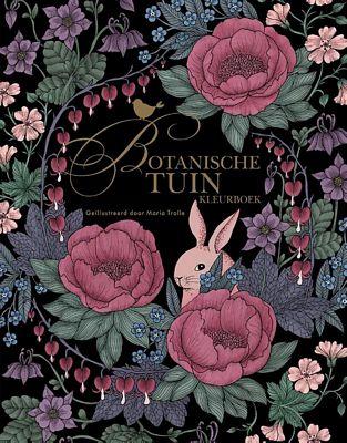 Maria Trolle - Botanische tuin kleurboek