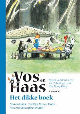 Sylvia Vanden Heede - Het dikke boek van Vos en Haas