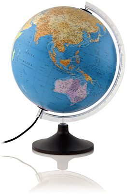 Globe Solid Line