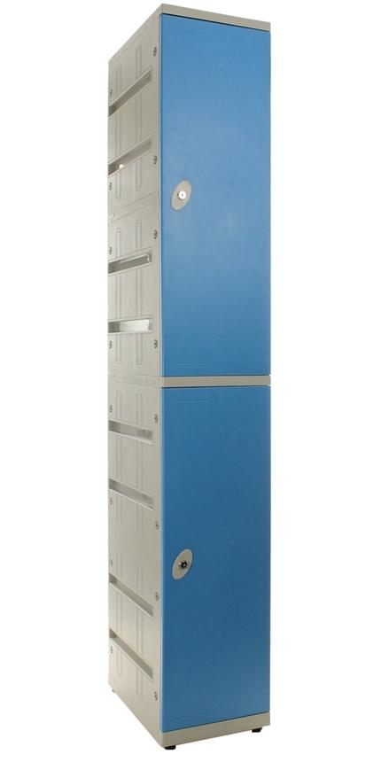 Kunststof Locker - tweedeurs