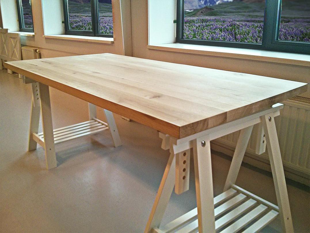 Specialist in houten tafels eiken for Tafelblad maken