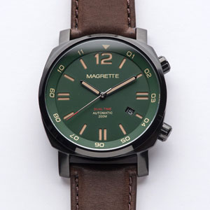 Dual Time Green PVD