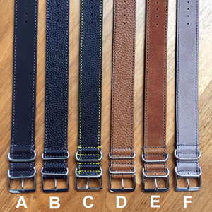 Zulu Straps Leather