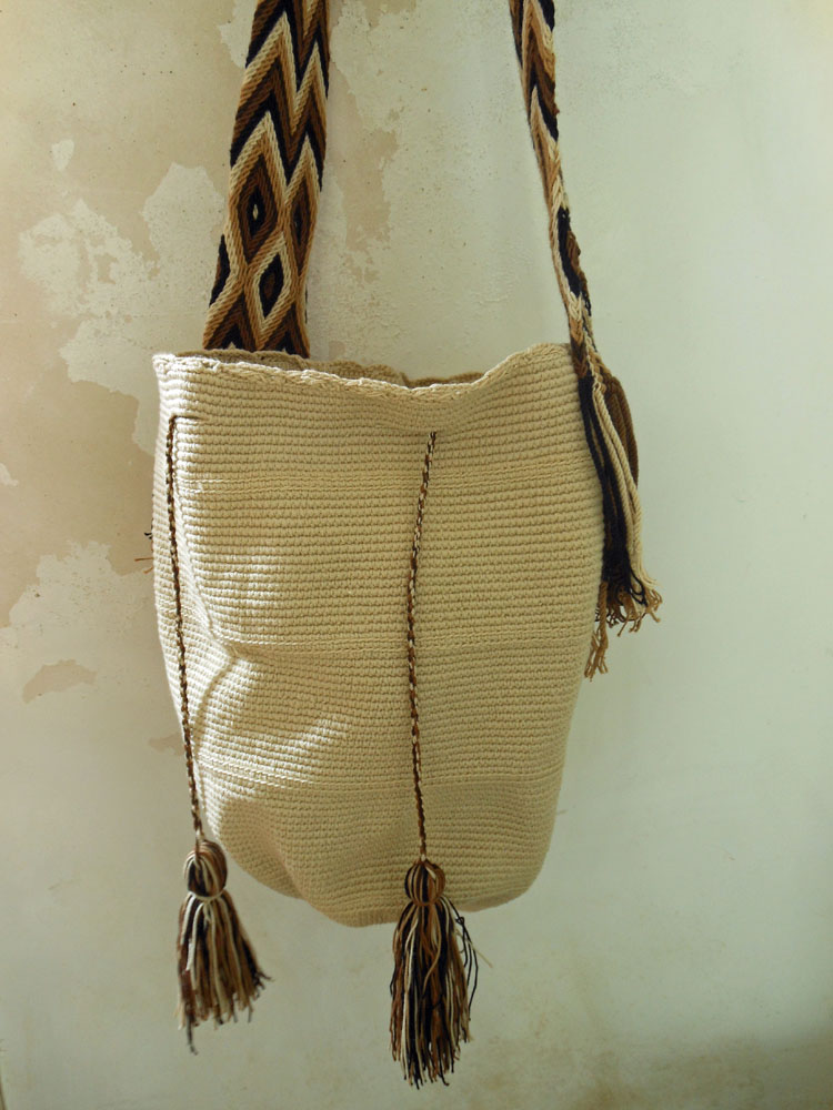 Handgemaakte tas bruin