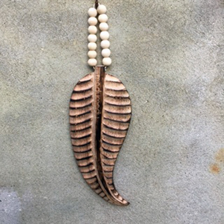Feather Mala mini