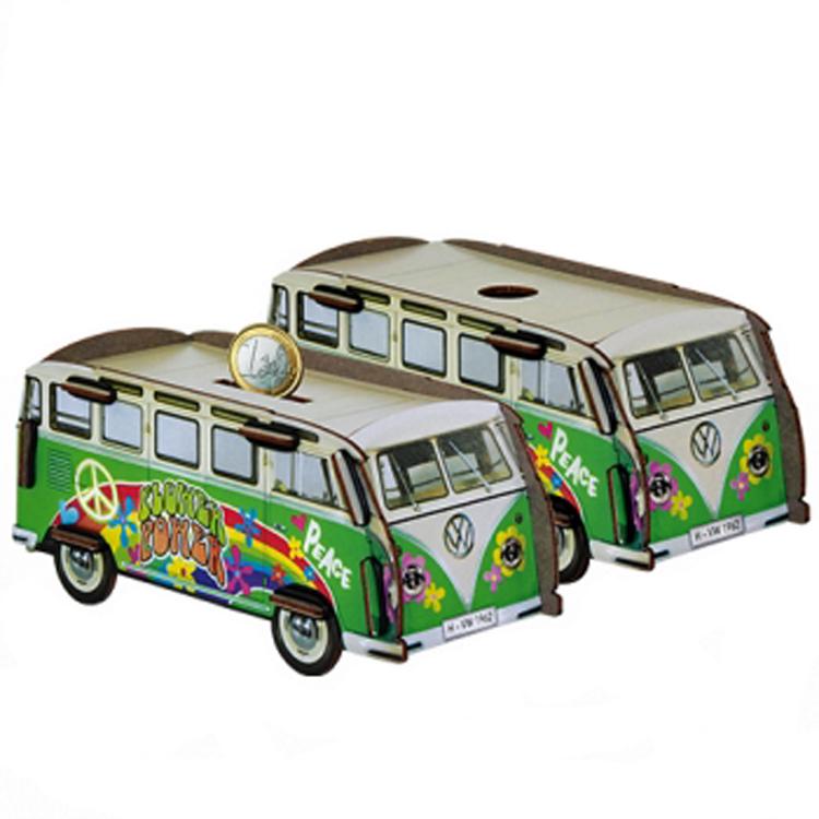 VW hippiebus spaarpot