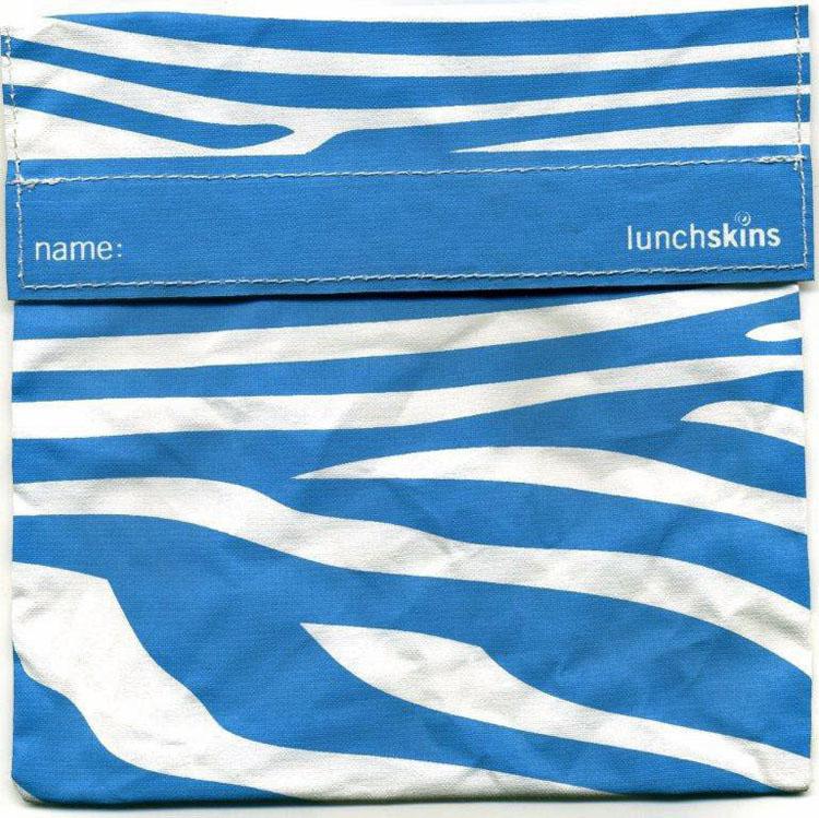 Lunchskin zebra