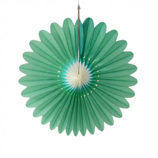 Bloem groen-wit 45cm