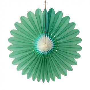 Bloem groen-wit 60cm