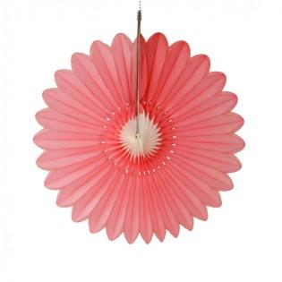 Bloem roze-wit 45cm