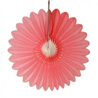 Bloem roze-wit 60cm