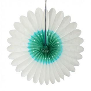 Bloem wit-groen 60cm