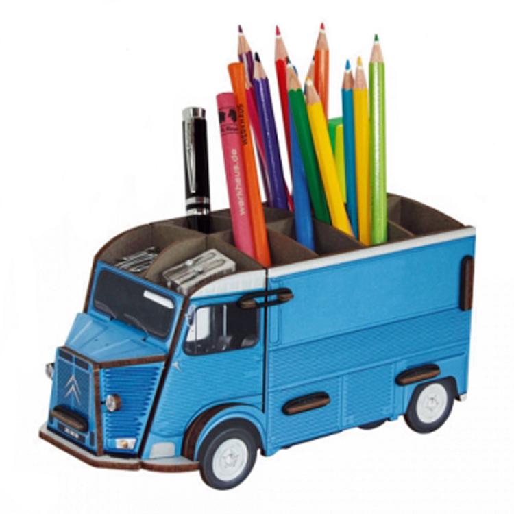 Citroen bus blauw