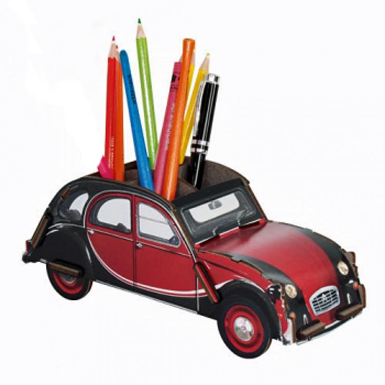 2CV pennenbakje rood