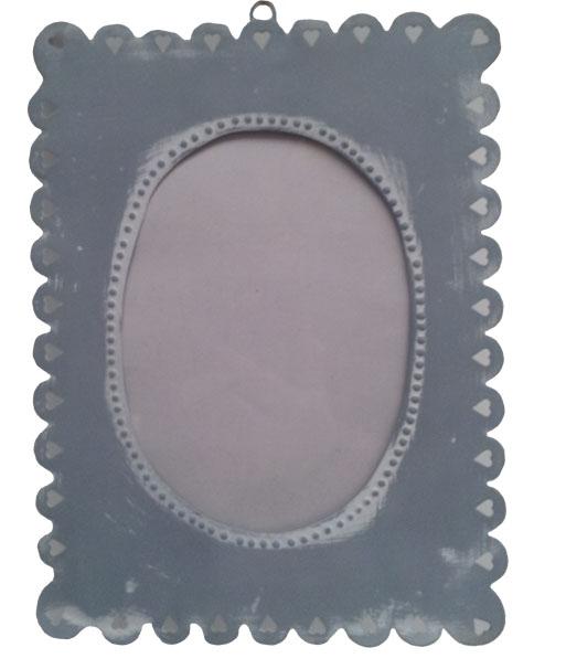 Fotolijst metaal grijs Large