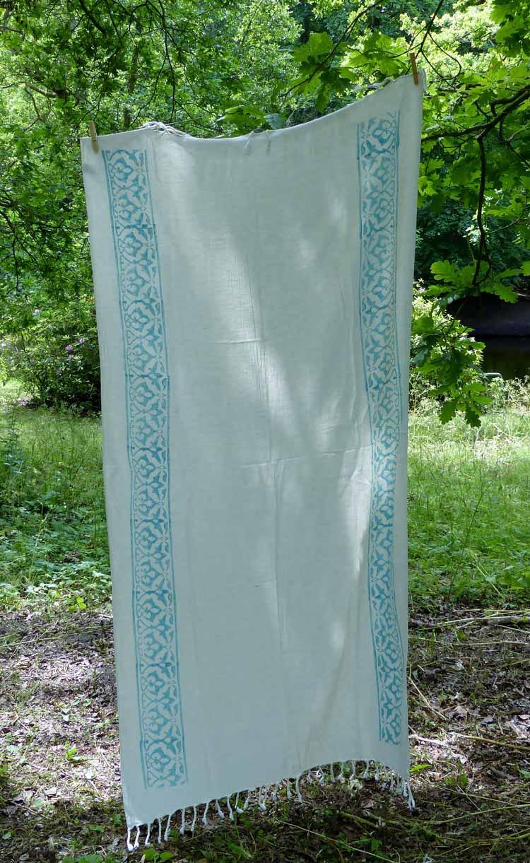 Hamamdoek stone groen
