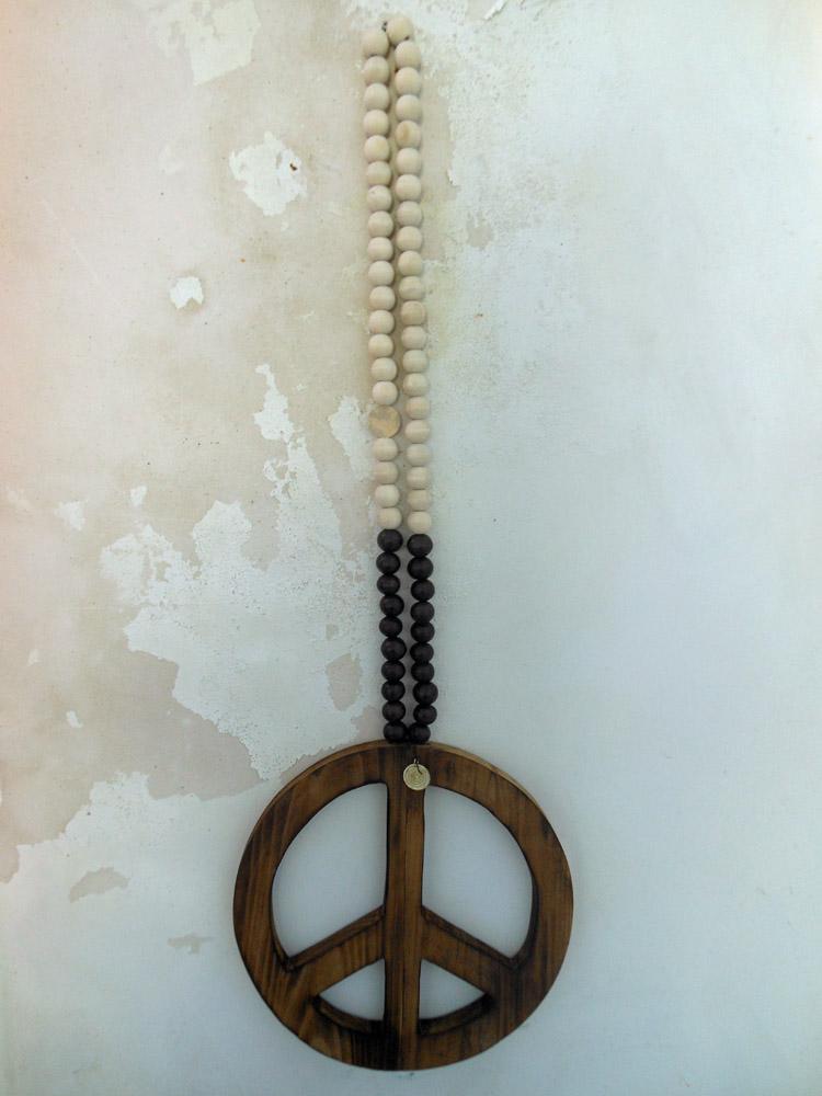Peace Mala zwart