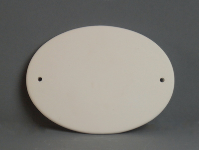 KE-700<br />Naamplaat ovaal<br />20 x 9cm