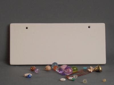 KE-702<br />Naamplaat recht<br />20 x 9cm