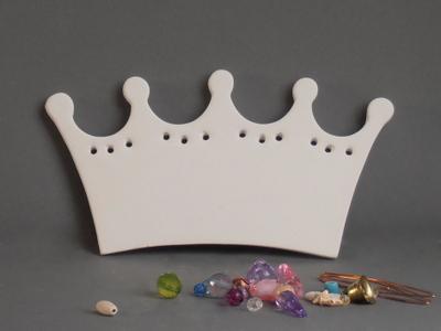 KE-704<br />Naamplaat kroon<br />18 x 18cm