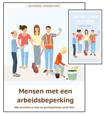 Informatieblad Mensen met een arbeidsbeperking eenvoudig verteld met bijbehorend kwartetspel