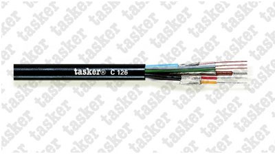 Multivideo shielded cable 1x0.12+2x0.12+1x0.50+2x0.14<br />C126
