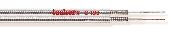 Divisible transparent flat cable 2x0,25<br />C199