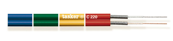 Divisible shielded flat cable for headphones and premade 2x0,25<br />C220