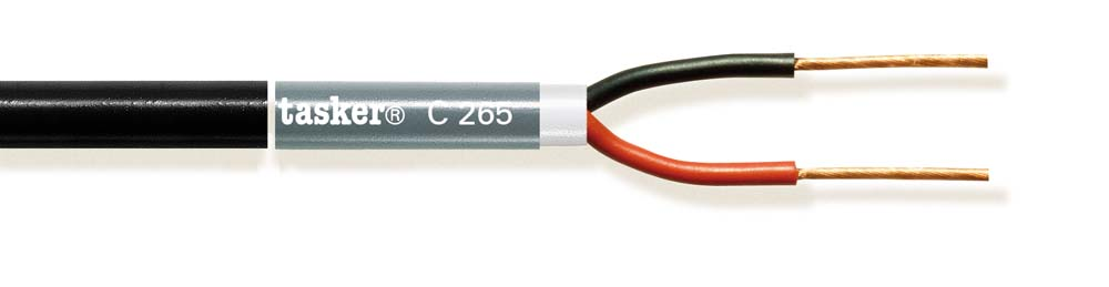 Stage Loudspeaker cable 2x1.00mm&sup2;<br />C265