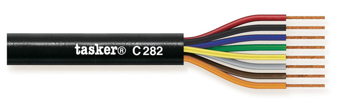 Stage Loudspeaker cable 8x4,00mm&sup2;<br />C282
