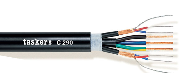 DMX cable digital audio+Power 2x2x0.22+3x2.50<br />C290