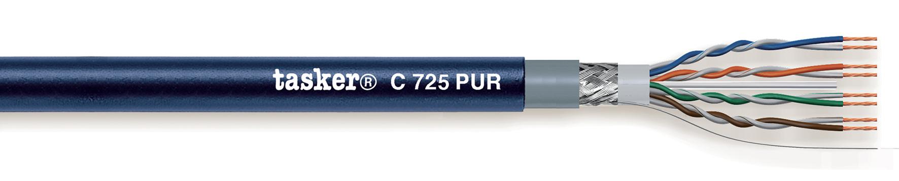 LAN cable 5e S-U.T.P.<br />C725 PUR.Mobile In/Outdoor