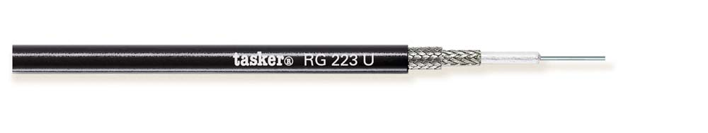 Coax video cable MIL C17F 1x0.63<br />RG223U