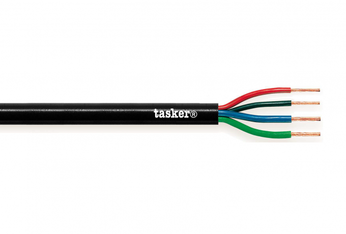 Loudspeaker cable 4x2x13AWG<br />4 x 2,62 mm²                   T27