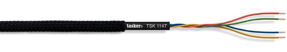 Quadripolar miniature audio cable 4x0.08<br />TSK1147