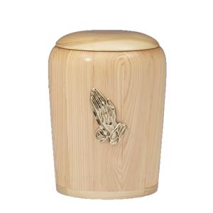 Houten Pot urn