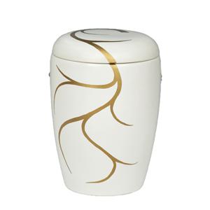 "Keramische urn ""Gouden versiersels"""